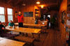 Galehead Hut dining room - White Mountains NH