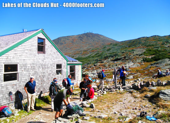 Lakes of the Clouds Hut - Appalachian Mountain Club AMC Huts