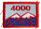 new hampshire 4000 footer amc hiking patch patches