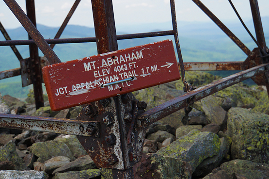 mount abraham maine 4000 footers new england summit photo