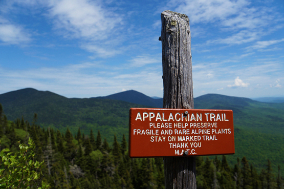fire wardens trail mount abraham maine 4000 footers new england appalachian trail