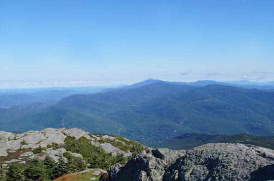 views from camels hump vermont