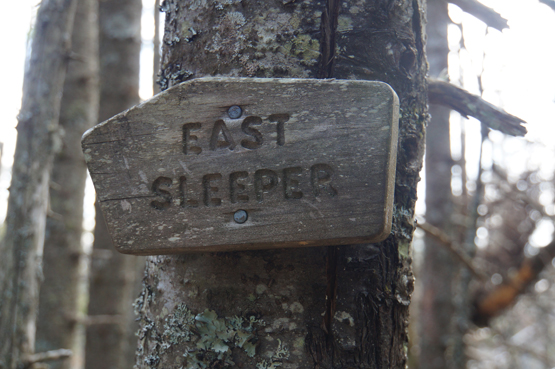 east sleeper summit sign hundred highest 100 nh new england
