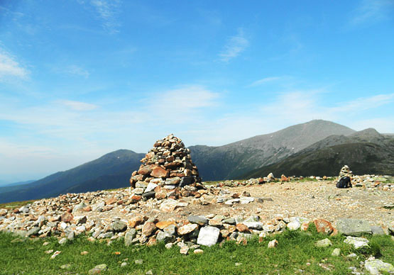 Summit of Mount Eisenhower, NH New Hampshire, hike 4000 footers eisenhower