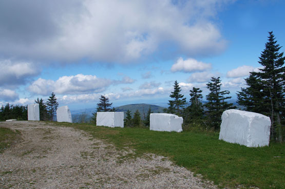 views from equinox mountain manchester vermont marble