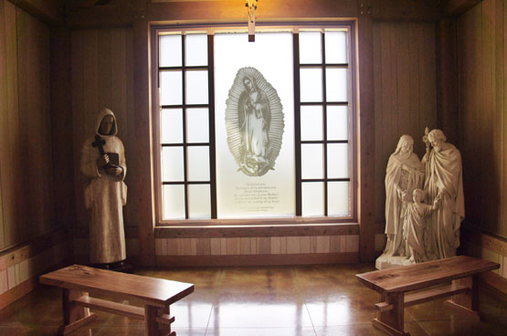 monks religious room at equinox mountain visitor center saint bruno viewing center manchester vermont