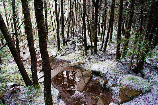 Galehead Mountain Frost Trail NH New Hampshire