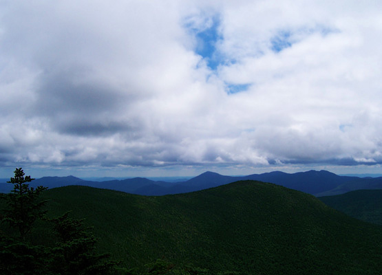Views from Hancock Mountain, North Peak, on August 13, 2011