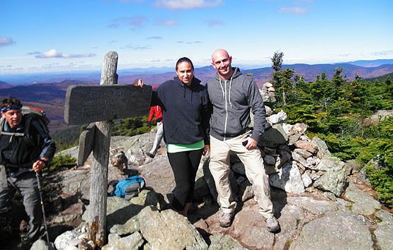 Hiking Mount Jackson White Mountains Presidential Range NH New Hampshire Carroll Twin Mountain Webster-Jackson Trail