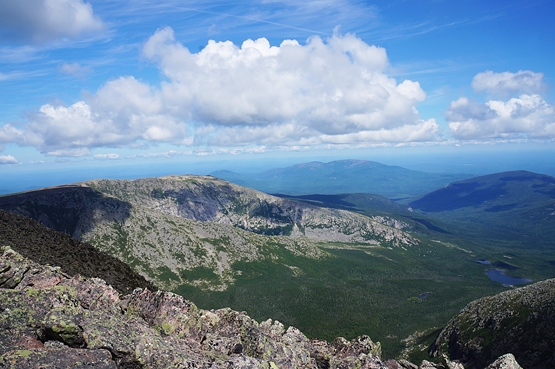 mount katahdin hamlin peak trail chimney pond