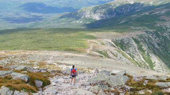 Hike Mount Katahdin Baxter Peak New England 4000 footers Maine