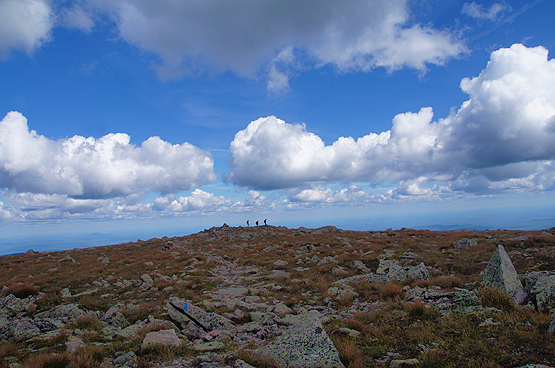 mount katahdin hamlin peak summit photo hikers