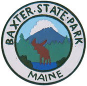 Baxter State Park logo photo moose maine