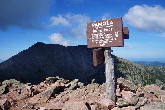 pamola peak katahdin summit