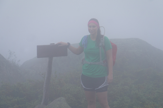 Hike South Brother Mountain New England 4000 footers Maine 3970 feet