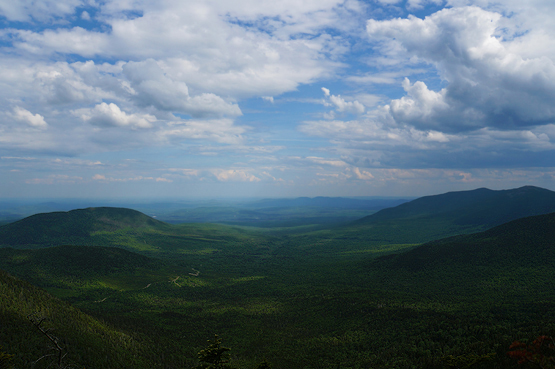 spaulding mountain summit views maine 4000 footers new england appalachian trail