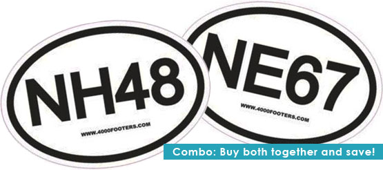 NH48 and NE67 car sticker decal